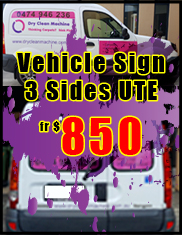 Vehicle Signs from $850 - Jack Flash Signs