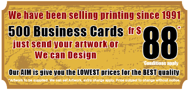 250 Business Cards from $69 condition apply