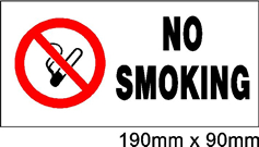 Safety Signs Smoke Hazars Signs - Jack Flash Signs