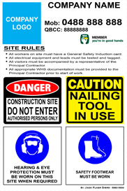 Builder Signs Safety Signs - Jack Flash Signs