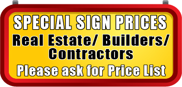 special Signs Prices