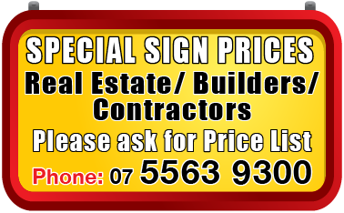 Real Estate/ Builder/ Contractors Signs Jack Flash Signs