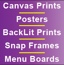 Canvas Prints, Posters, Back
